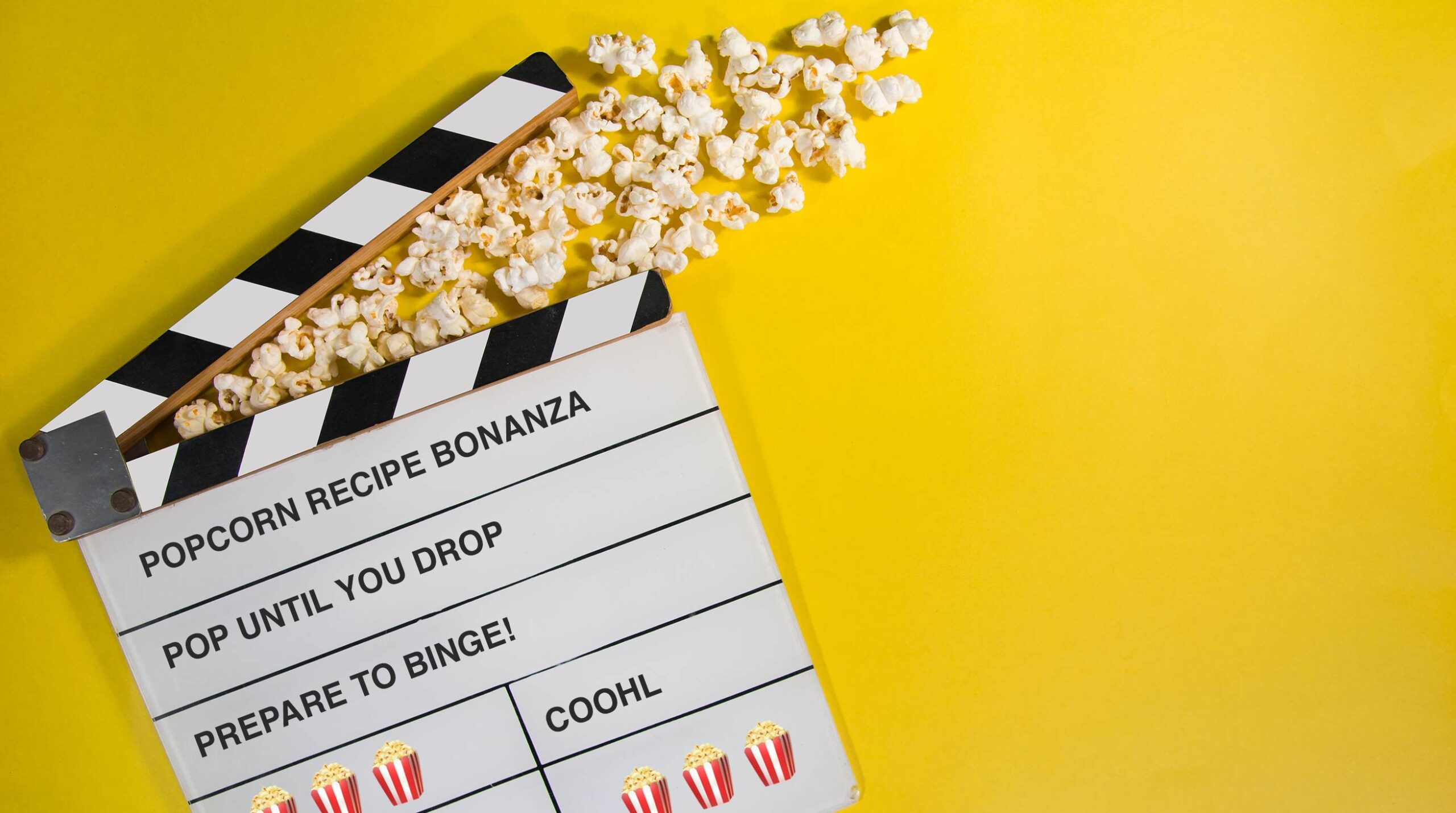 Popcornrecept Bonanza!
