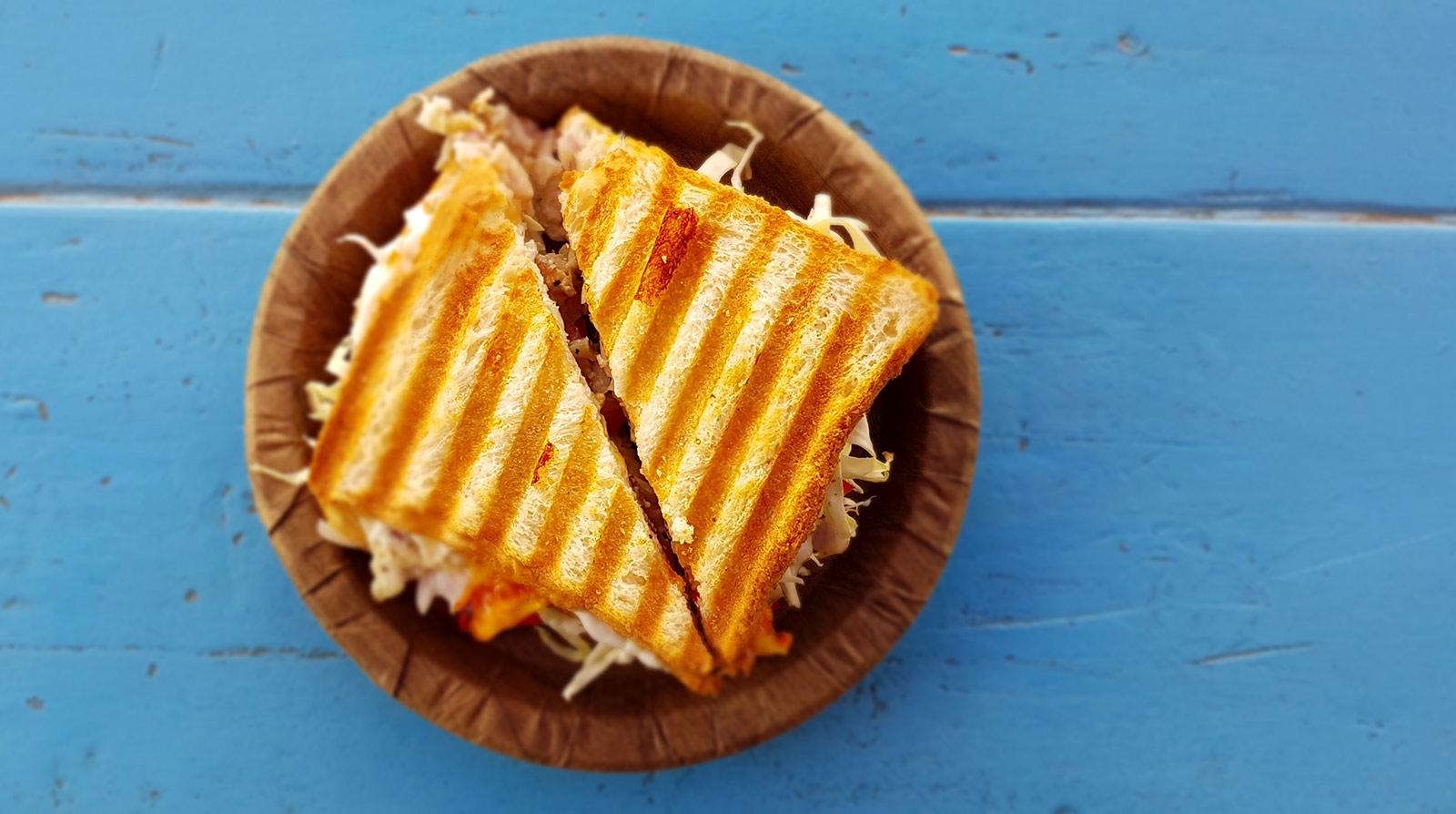 Gör din bästa veganska grillade ostmacka någonsin. Foto: Asnim Ansari / Unsplash