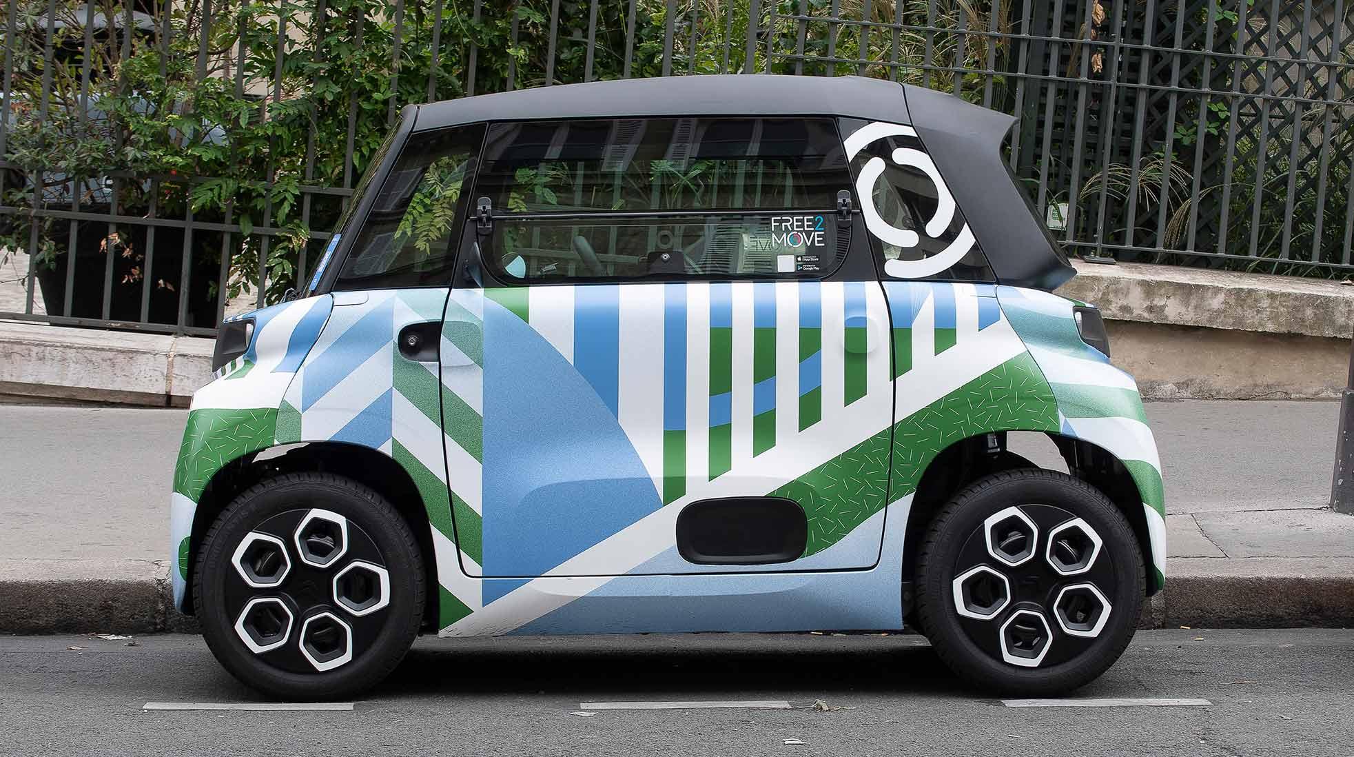 Den billiga elbilen Citroën Ami. Foto: © Citroën Communication / DR